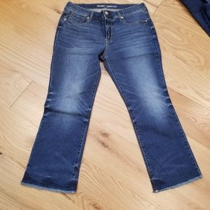 Opd Navy flare jeans